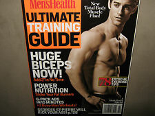 NEW! Men's Health ULTIMATE TRAINING GUIDE 2012 Nutrition Plan 6 Pack Abs in 15mi