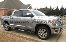2014-2017 Toyota Tundra Crew Max Cab Short Bed Flat Body Side Molding Trim 8Pc