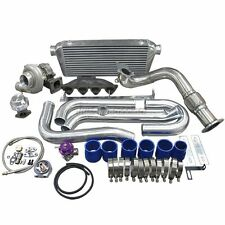 Turbo Intercooler Kit Cast Manifold For Civic EK B16 B18 B20 B-Series Engine