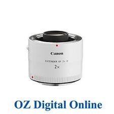 NEW Canon EF EXTENDER 2X MK 3 III 2.0 X LENS Teleconver