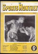 Feb 1950 the Sports Monthly Magazine- Australia- Ike Williams v Freddy Dawson