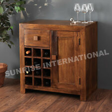 Contemporary Wooden Wine Bar Cabinet rack !!