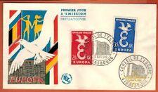 1958 - Enveloppe -FDC 1°Jour **Conseil de l'Europe - Europa -TIMBRE Yt.1173/4