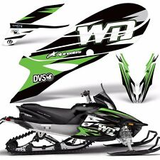 Yamaha APEX Decal Wrap Graphic Kit RTX GT MTX LTX Sled Snowmobile 12-16 WD GREEN