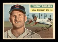 1956 Topps Set Break #324 Rocky Bridges EX-MINT *OBGcards*