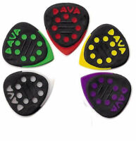 5 x Dava Grip Tip Guitar Pick / Plectrum With Delrin Tips (Pack Of Five)