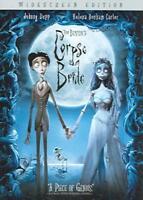 TIM BURTON'S CORPSE BRIDE NEW DVD