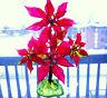 LARGE 60s 70s VINTAGE ACRYLIC LUCITE FLOWERS SCULPTURE retro mcm christmas resin