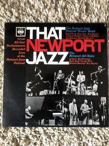 "That Newport Jazz. Festival ""House"" Band, Newport All Stars. LP"