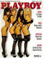 Playboy 03/1996    Playboys Lingerie-Girls & MELANIE ANSCHÜTZ    März/1996