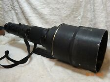 Used Nikon Nikkor 600mm F4 ED AI Manual focus lens with ct601 case just serviced