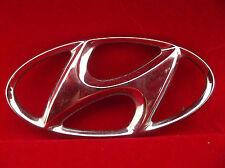 Chrome Plastic Hyundai Logo Trunk Grill Emblem OEM