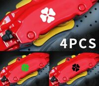 4 Pegatinas sticker aufkleber caliper brake trébol Alfa romeo pinzas freno 4 cm