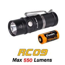 Fenix RC09 Cree XM-L2 U2 LED Magnetic USB Rechargeable Flashlight Torch +Battery