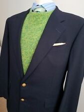 HICKEY FREEMAN - Canterbury - Ivy League GOLD BUTTON SPORT COAT JACKET BLAZER