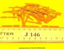 j146 jouef ho spares 50x brass terminals/pick-ups for jouef locos many apps