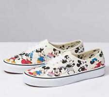 NIB Vans Limited Disney Authentic Mickey's BIRTHDAY / True White VN0A38EMUJ2