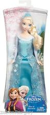 """Disney Frozen Sparkle Elsa Classic 12"""" Barbie Doll Queen Dress RETIRED 2013 OOP"""