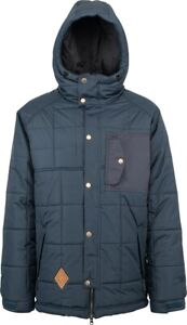 L1 Chieftan Insulated Snowboard Jacket Mens Size Large Ink Blue New