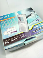 Sony ICD-P28 Digital Voice Recorder Handheld Dictaphone Dictation Machine USB