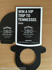 Jack Daniels 150TH Anniversary  Bottle Tag  New From 2016 British Edition