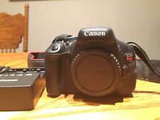 Canon EOS Rebel T3i / EOS 600D 18.0MP Digital SLR Camera - Black Body Only DSLR