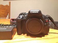 Canon EOS Rebel T3i / EOS 600D 18.0MP Digital SLR Camera - Black Body Only DSLR