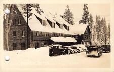 RPPC RAINBOW TAVERN Soda Springs CA Highway 40 Nevada Co c1930s Vintage Postcard