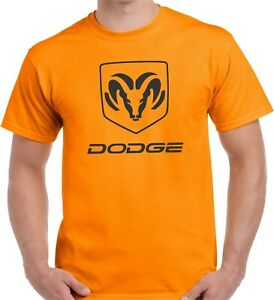 DODGE RAM T-SHIRT - GRAPHIC TEES HEAVY COTTO NEON TEES