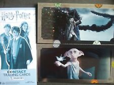 HARRY POTTER CONTACT TRADING CARDS , FULL SET X140