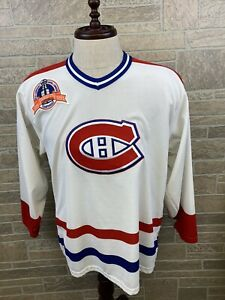 Vintage 1993 Montreal Canadiens Jersey CCM Maska USA Stanley Cup Size M RARE!!!!