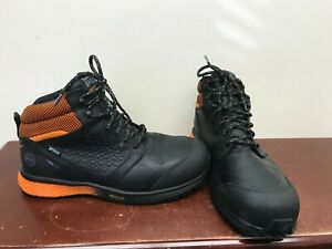 Men's Timberland Pro Reaxion Safety Shoes Size 10.5W.