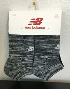New Balance No Show pack of 6 Pairs M