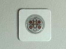 LEGO - Sticker, Magnetic with Silver/Copper Pattern (Insectoid Series)