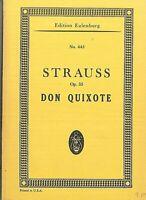 Taschenpartitur : Richard Strauss ~ DON QUIXOTE