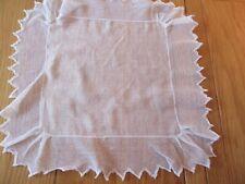Beautiful Vintage Wedding handmade Lace Cotton Lawn , Hankie Handkerchief