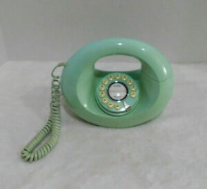 Retro Donut Phone Mint Green