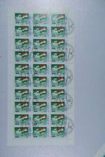 B2 Asien Tadschikistan 15-21 alle Kleinbögen komplett gestempelt