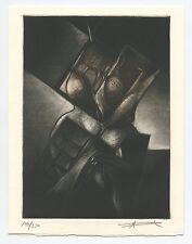 RONCEREL MICHEL GRAVURE 2002 SIGNÉE AU CRAYON NUM/230 HANDSIGNED NUMB ETCHING