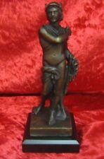 DeAgostini Bronzefigur MERKUR Reproduktion aus Bronze   NEU
