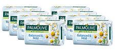 8 x Palmolive Naturals Balanced & Mild Bar Soap with Chamomile & Vitamin E 90g
