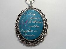 ANTIQUE VICTORIAN LACE THE LOVE BETWEEN A MOTHER AND A DAUGHTER NECKLACE