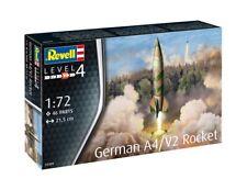 REVELL 1:72 KIT IN PLASTICA RAZZO TEDESCO GERMAN A4/V2 ROCKET ART 03309