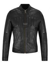 Ladies Leather Jacket Classic Fashion Black Real Leather Womens Jacket L-MVP