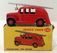 Vintage Dinky 250 - Streamlined Fire Engine - Red