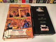 * WWF SummerSlam 90 Rare Wrestling VHS Coliseum Video Hulk Hogan Dusty Rhodes