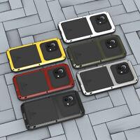LOVE MEI Metall Gorilla Glas 360-Grad Schutzhülle Case für Xiaomi Mi 11/ 10 Pro