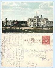 Bradley Polytechnic Institute Peoria Illinois 1918 College School Postcard