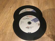 """Bosch 2 x Expert Metal Cutting Disc 355mm(14"""") New"""