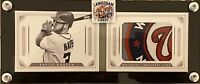 2014 National Treasures Bryce Harper Jumbo Logo Patch Booklet (Custom Case)